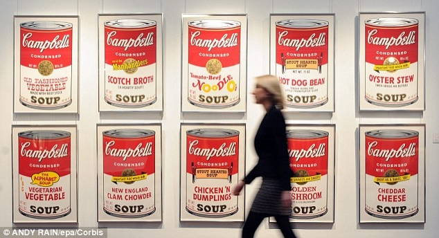 Overnameplan Campbell's Soup
