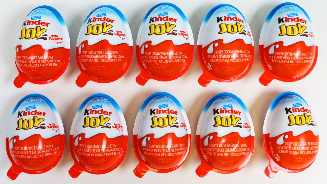 Succesvolle introductie Kinder Joy