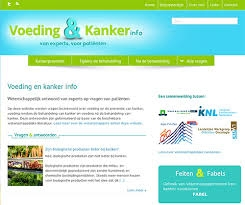 Website over voeding & kanker