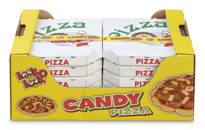 Look-O-Look scoort met Candy Pizza